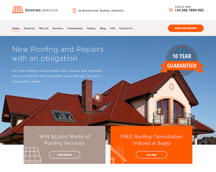 grow your roofing business with the right website from pedestals